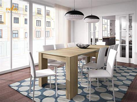 mesas de comedor extensibles modernas de cristal