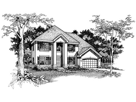 suson place colonial home plan suson hill colonial home plan 072d 0537 house plans and more