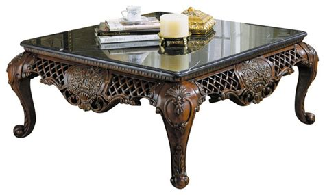 homelegance gladstone 3 square coffee table set with