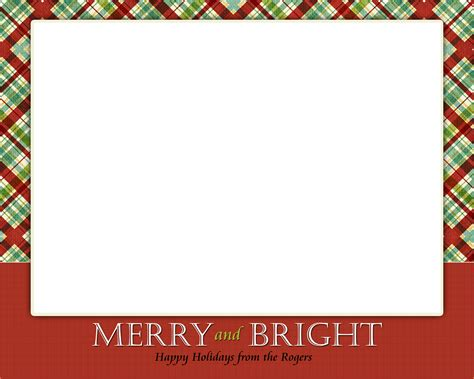 12 Free Christmas Templates For Word Authorizationletters Org Free Photo Card Templates