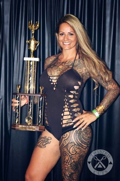 tattoo expo oahu twisted cuts swimwear pacific ink art expo 2015 queen