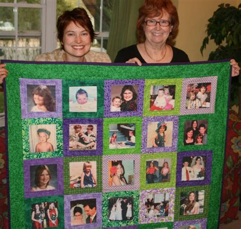 Family Picture Quilt by You To See And Family Quilt On Craftsy