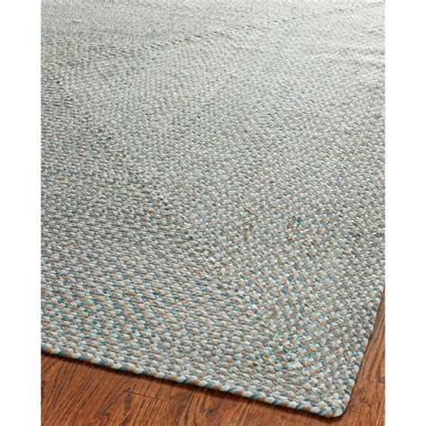 floor rug safavieh braided blue multi area rug reviews wayfair