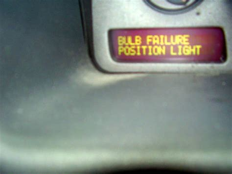 bulb failure position light volvo s60 volvo performance repairs and modifications bulb failure