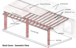 Porch Blueprints Patio Cover Plans Build Your Patio Cover Or Deck Cover