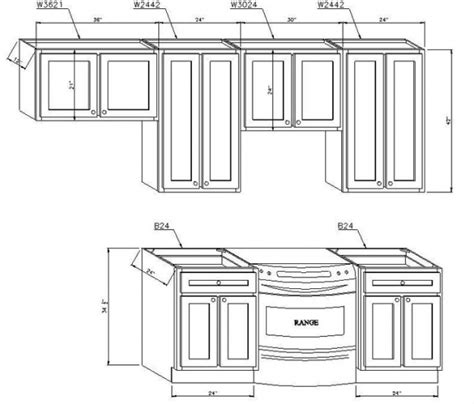 Kitchen Cabinet Standard Measurements by Standard Kitchen Cabinet Door Sizes New Interior