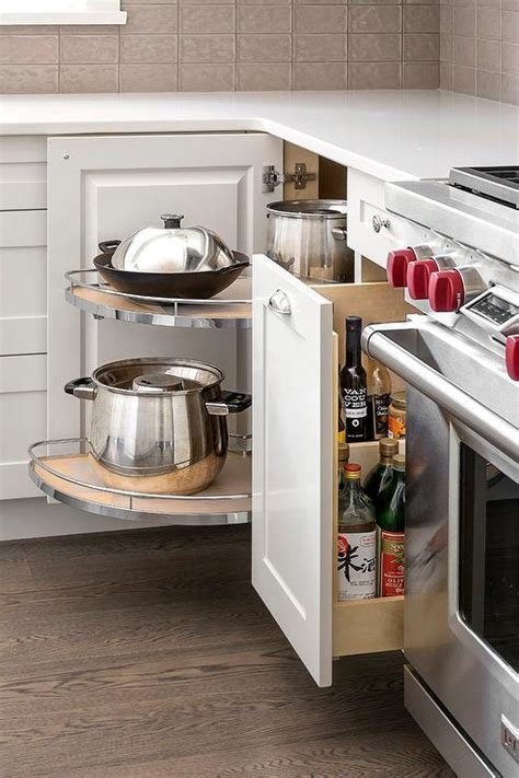 Built In Spice Rack Next To Stove Design Ideas