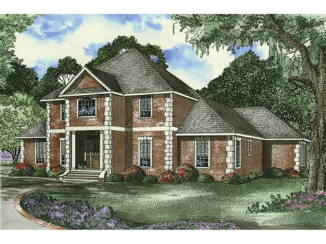 two story brick house plans two story brick home plans house design ideas
