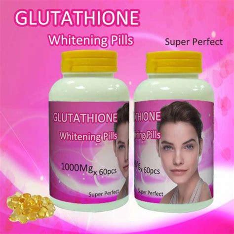Gluta Fresh Glutathione Whitening Series 3 In 1 glutathione skin whitening capsule collagen pills of
