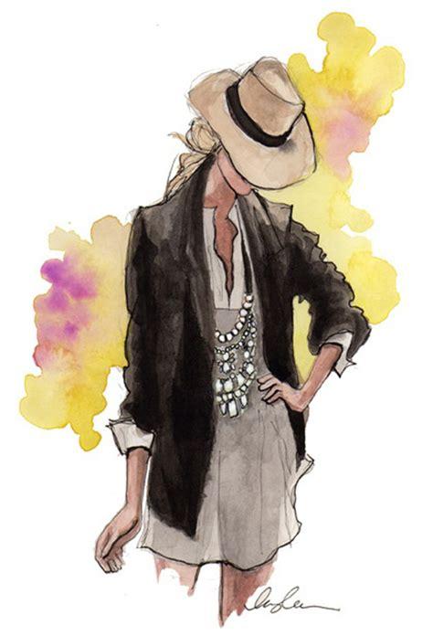 fashion illustration inspiration inspirational fashion illustrations pictures