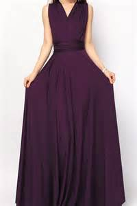 Infinity Dres Eggplant Convertible Infinity Dress Bridesmaid Dress