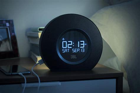 jbl horizon alarm clock wake   light hiconsumption