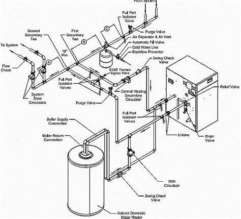water heater piping diagram 12 best images of weil mclain piping diagrams piping and