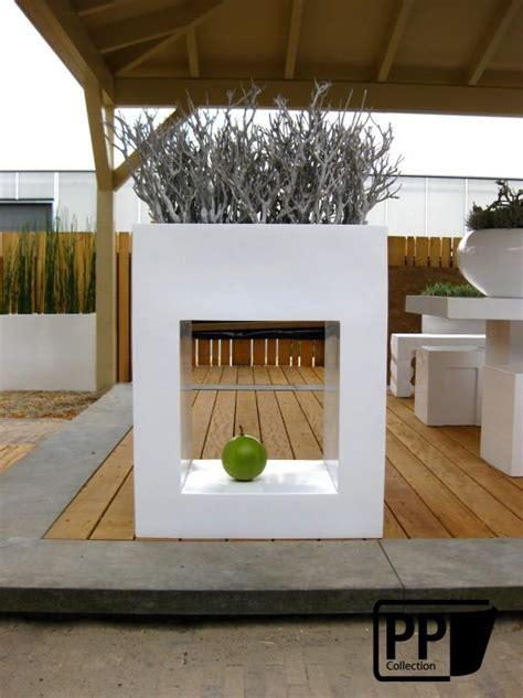 mobilier table bac a fleur design