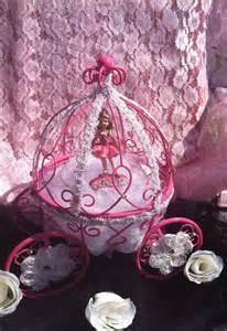 princess carriage centerpiece items similar to pink cinderella pumpkin carriage