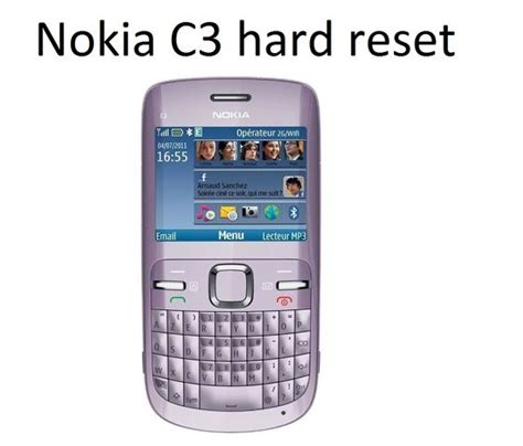 resetting nokia c3 nokia c3 hard reset service code device boom