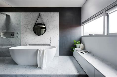 award winning bathrooms australia award winning monochromatic bathroom by minosa design