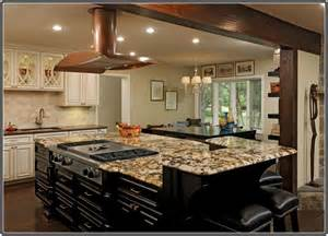 kitchen island top ideas granite top kitchen island with seating home design ideas