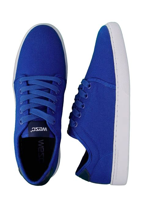 wesc edmond royal blue shoes impericon worldwide