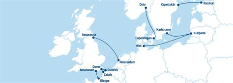 map uk ferry routes ferries to the uk scandinavia the baltics dfds
