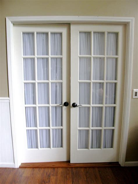 Curtain Ideas For Sliding Patio Doors French Doors Interior Design Ideas 16 Ways To Make Your