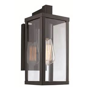 Square Sconce Transglobe Lighting 1 Light Outdoor Wall Lantern Amp Reviews