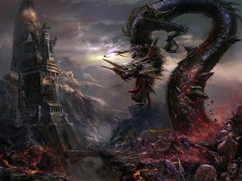 dark art artwork fantasy artistic gothic dark art fantasy dragon picture nr 55917