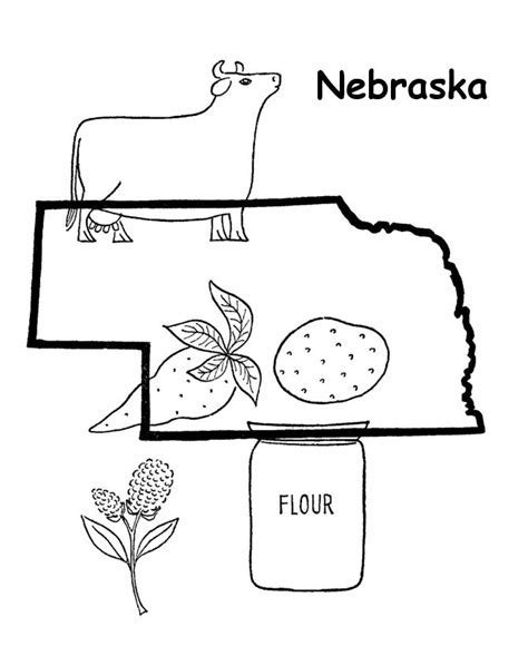 huskers coloring pages coloring pages