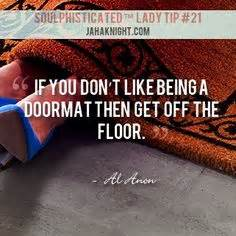 al anon doormat quote al anon quotes from quotesgram