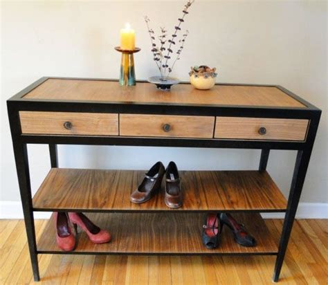 Shoe Rack Entry Table Entry Table Shoe Rack Home Inspiration
