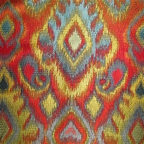 Order Upholstery Fabric by Ikat Fabric By The Yard Woven Ikat Fabric Buyfabrics