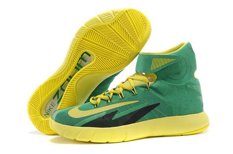 green yellow basketball shoes nike zoom hyperrev kyrie irving green yellow black