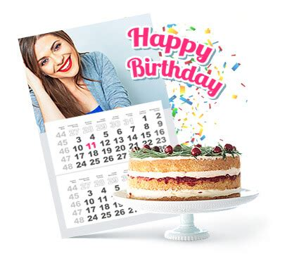 how to make a birthday calendar how to make a birthday calendar with pictures