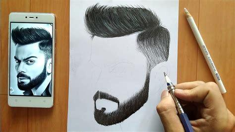 draw hairs step  step youtube
