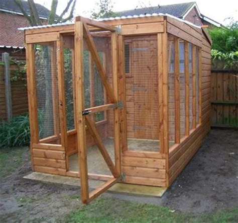 Cat Shed by Wooden Shed With Enclosure And Indoor Shelving Outdoor