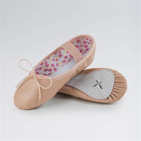 capezio ballet shoes leather pink narrow amanda
