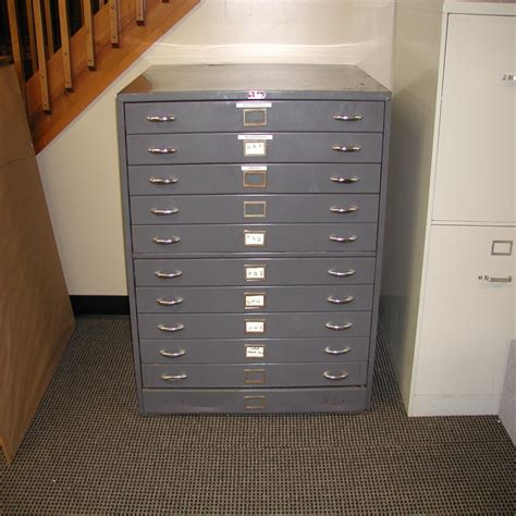 lot 50 fosters flat file cabinet 11 drawer 25 5 x 37