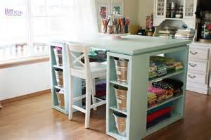 sewing and craft table sewing craft room tour furniture beingbrook