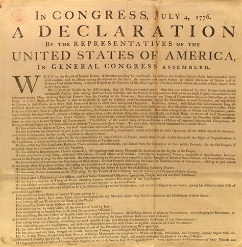 printable declaration of independence declaration of independence for kids