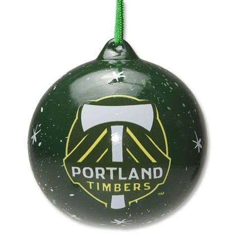 portland timbers holiday ornament on sale for 4 99