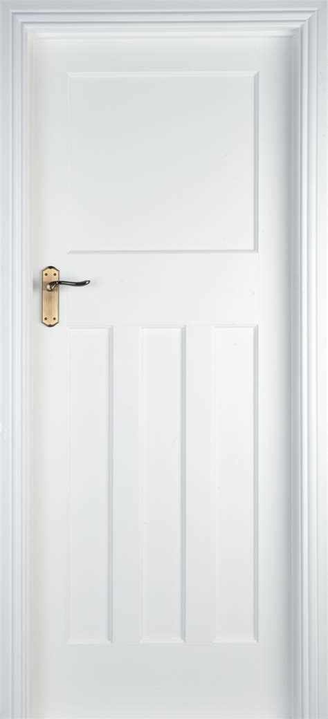Front Door Modern by Edwardian White Primed 40mm Internal Doors White