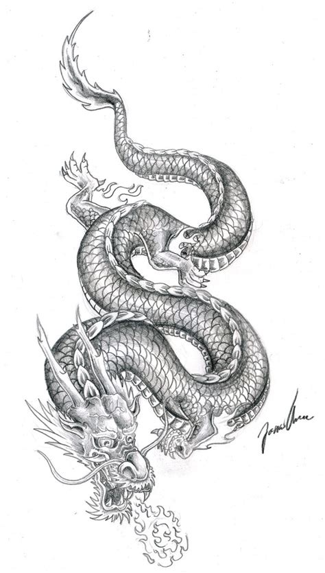 chinese dragon tattoo designs dragons on