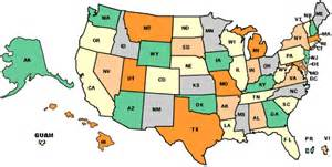 Us State Abbreviations Map by Xpdnc United States Credit Union Links
