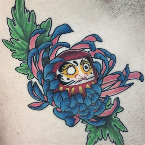 chrysanthemum tattoo design blue chrysanthemum www pixshark images