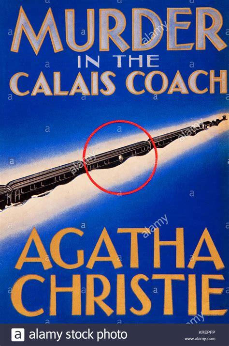 Novel Murder On The Orient Express Cover Agatha Christie hercule poirot stock photos hercule poirot stock images