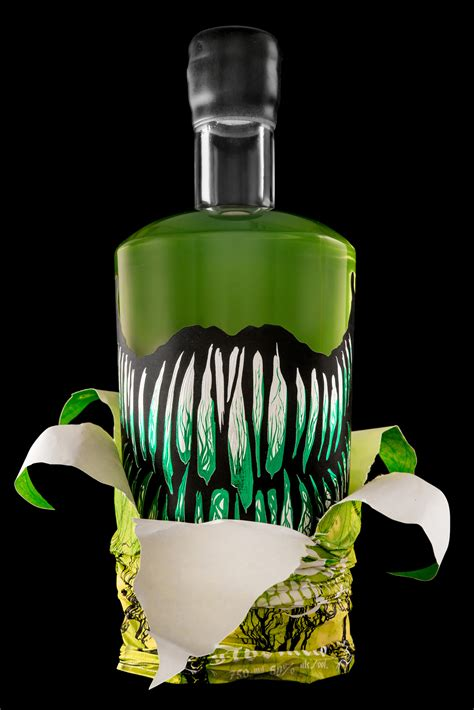 What Is Beautiful About Cannabis And Absinthe by Baba Yaga Absinthe The Dieline Packaging Branding