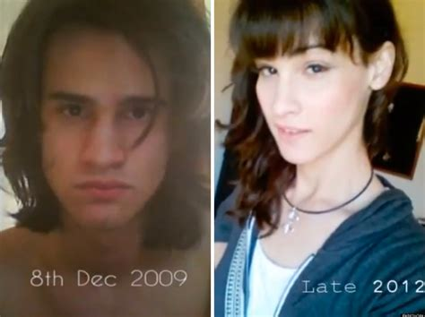 female to male transgender surgery before and after timelapse shows transgender s three year transformation