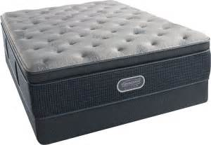 pillow top mattress dimensions beautyrest recharge silver comfort gray plush pillow