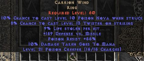 carrion wind 9 ll unique rings west non