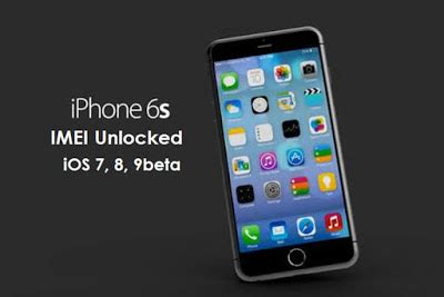 iphone 6 and iphone 6s imei unlocked software get a free key